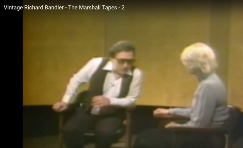 Richard Bandler - The Marshall Tapes
