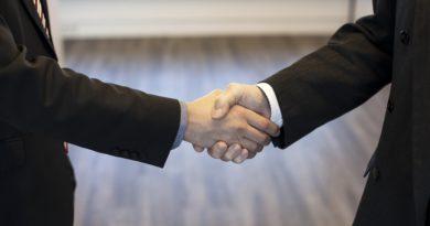 Handschlag und Handschlagqualität