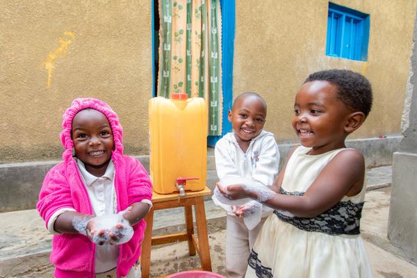 Händewaschen Ruanda