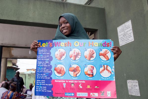 UNICEF Nigeria coronavirus awareness